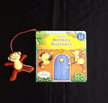 "Lamaze ""Monkey Business"" Magnetic Book"