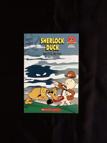 "Sherlock Duck ""Quacking the Case in Old England"" Scholastic Book"