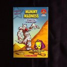 "Mummy Madness ""Wrapped Up in Ancient Egypt"" Scholastic Book"