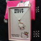 Hello Kitty Princess Sterling Silver Necklace