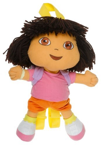 Dora Explorer Plush Doll Backpack