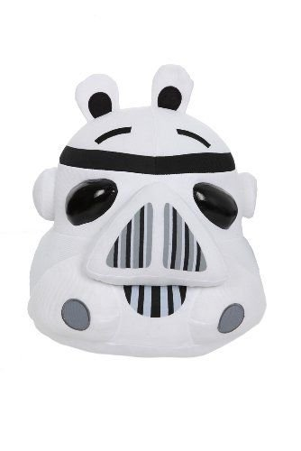 """Angry Birds Star Wars Storm Trooper 12"""" Plush"""
