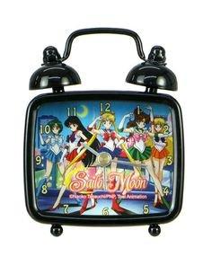 Sailor Moon Group Mini Desk Clock