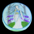 Eternity Fairy Scene Round Jewelry/Trinket Box Figurine