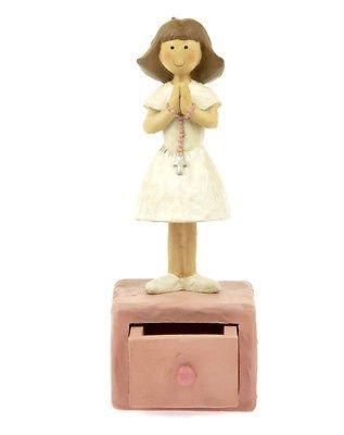 Girl First Communion Trinket Box
