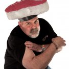 Simple Mens Halloween Costumes - Funny Meat Head Costume Hat for Men