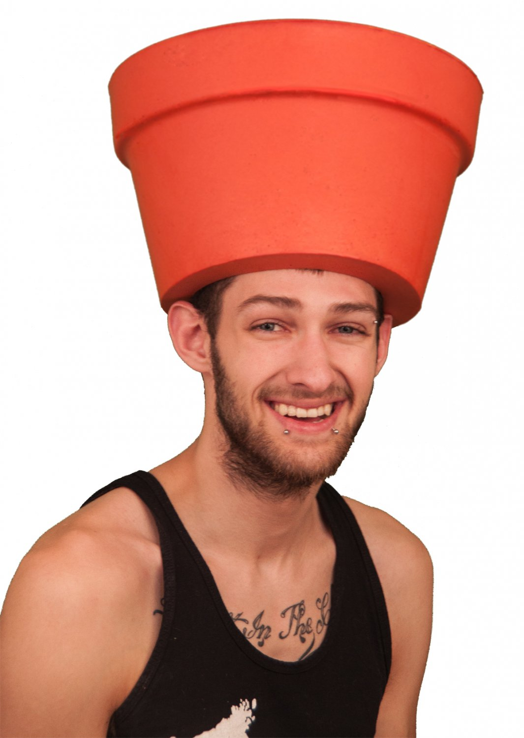Simple Adult Costume Ideas - Funny Pot Head Hat Costume for Adults