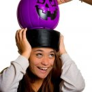 Children's Trick or Treat Safety Gear - Lighted Pumpkin Candy Pail Hat