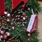 Food Christmas Ornaments - Unique Foam T-bone Steak Holiday Ornament