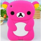 Loving Soft Silicone Cover Case for iPad with MiniRilakkuma Shape