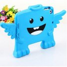 Protective Kid Friendly Funny EVA Case for iPad Mini with Angel Design Cheap price-Blue