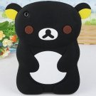 Loving Rilakkuma Shape Case for iPad Mini -Black