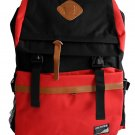 Korean Style Backpack Light Red bookbag Travel College Fashion Leisure