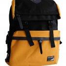Korean Style Backpack Yellow bookbag Travel Bag School Chic Leisure