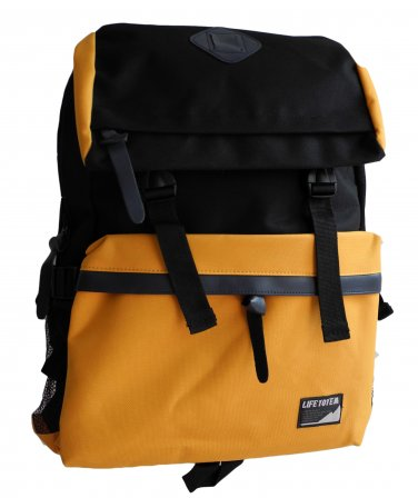 Korean Style Backpack Yellow bookbag Travel Bag School Chic Leisure