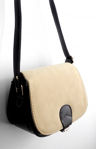 Classic Style Shoulder Bag in Light Brown Faux Suede hangbag lady women girl PU