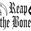 "Reap The Bone Hunting Decal  12"" x 8"""