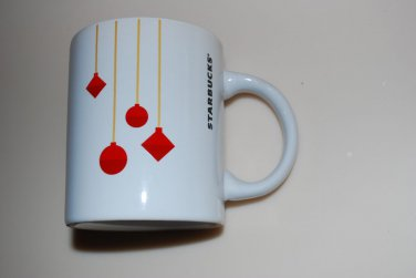 Starbucks Christmas Red Ornament Mug Cup