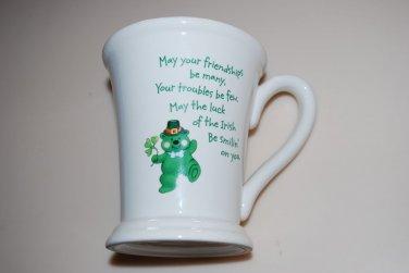 Hallmark St. Patrick's Day Shamrock Bear Mug Cup