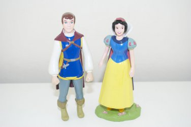 """Snow White & Prince Charming Poseable 4"""" Figures from Disney Parks Exclusive Collectors Set"""