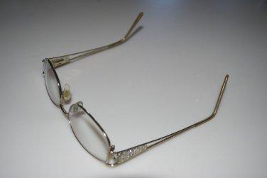 Jessica McClintock Reading Glasses Frames Gold