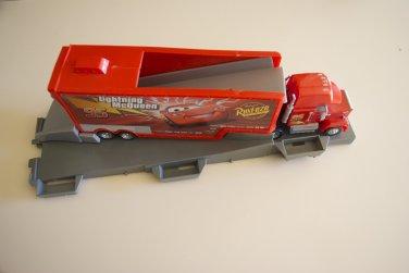 Cars Disney Pixar Movie Mack Track Challenge Race Track Mack Truck Only