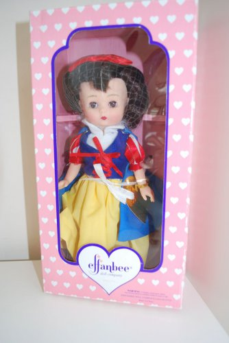 """Effanbee Snow White 9"""" Doll New in Box"""