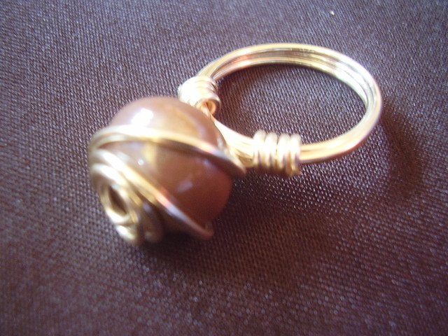 Earth Colored Ring