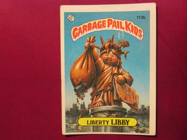 Garbage Pail Kids (Trading Card) 1986 Liberty Libby #113b