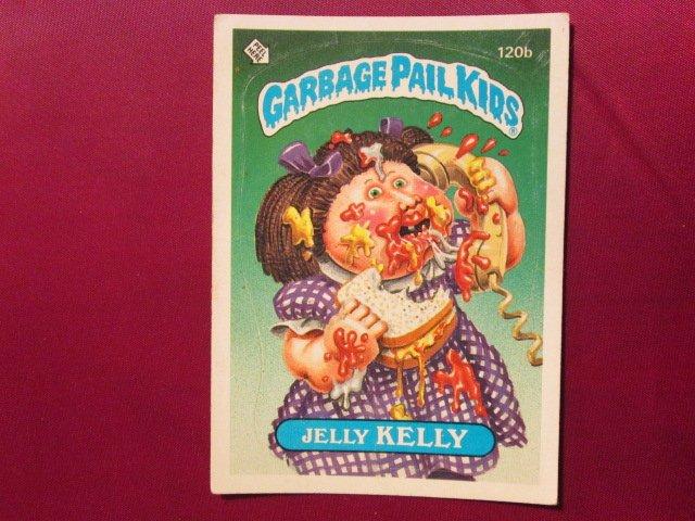 Garbage Pail Kids (Trading Card) 1986 Jelly Kelly #120b
