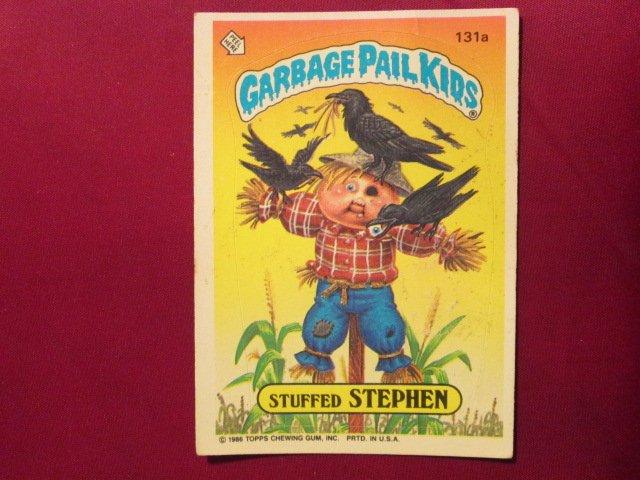 Garbage Pail Kids (Trading Card) 1986 Stuffed Stephen #131a