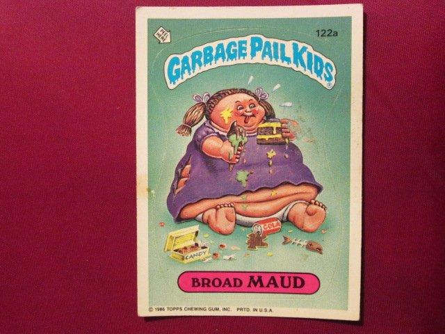Garbage Pail Kids (Trading Card) 1986 Braud Maud #122a