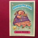 Garbage Pail Kids (Trading Card) 1986 Braud Maud #122a