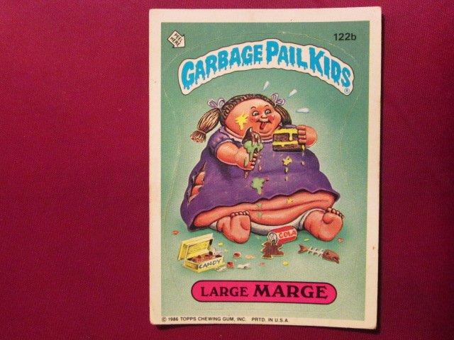 Garbage Pail Kids (Trading Card) 1986 Large Marge #122b