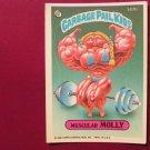 Garbage Pail Kids (Trading Card) 1986 Muscular Molly #147b