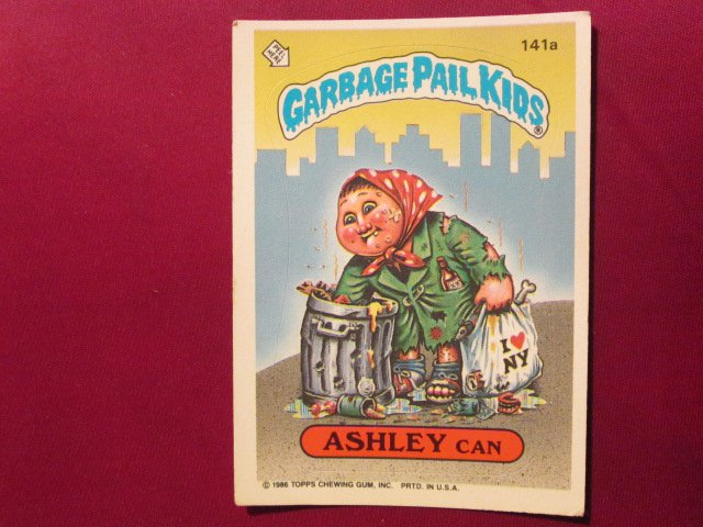 Garbage Pail Kids (Trading Card) 1986 Ashley Can #141a