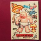 Garbage Pail Kids (Trading Card) 1986 Cut-Up Carmen #257a