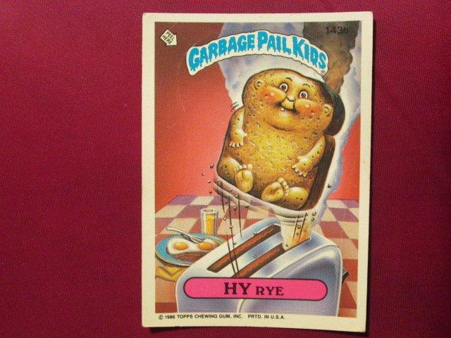 Garbage Pail Kids (Trading Card) 1986 Hy Rye #143b