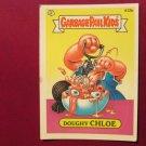 Garbage Pail Kids (Trading Card) 1986 Doughy Chloe #412b