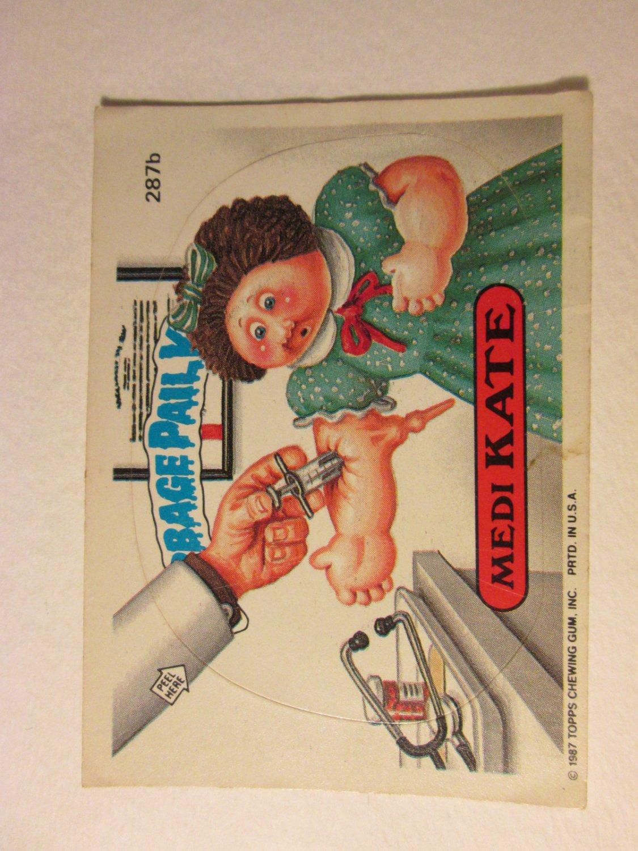 Garbage Pail Kids (Trading Card) 1986 Medi Kate #287b