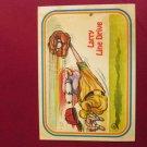 Larry Line Drive Baseball Sticker Card 99