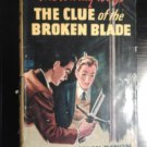 The Clue of the Broken Blade Hardy Boys Mystery #21