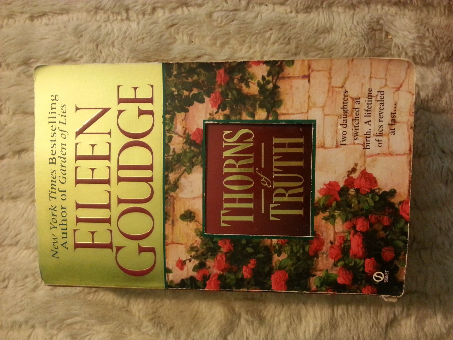 Thorns of Truth by Eileen Goudge (1999) Paperback Book ISBN 0451185277