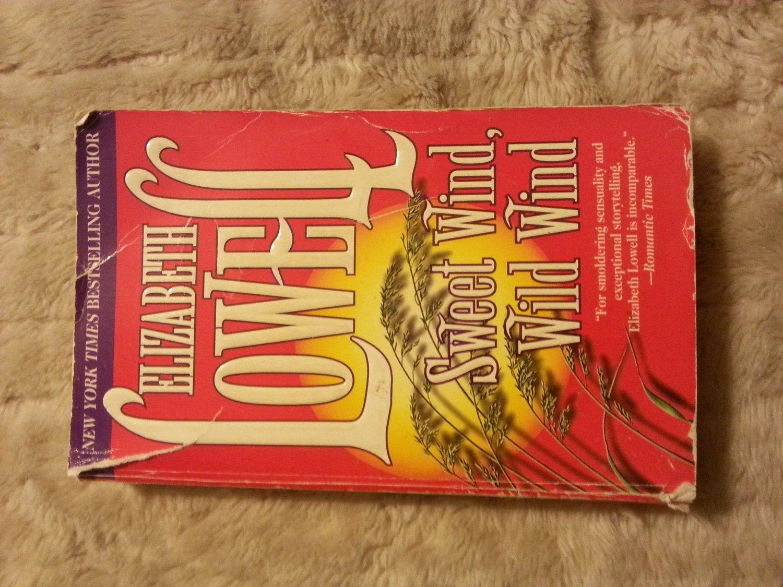 Sweet Wind, Wild Wind by Elizabeth Lowell Paperback Book ISBN 1551662884