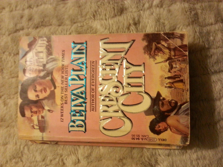 Crescent City - Belva Plain Paperback Book ISBN 0440115493