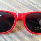 Unisex fashion stylish UV Protection Sunglasses color red