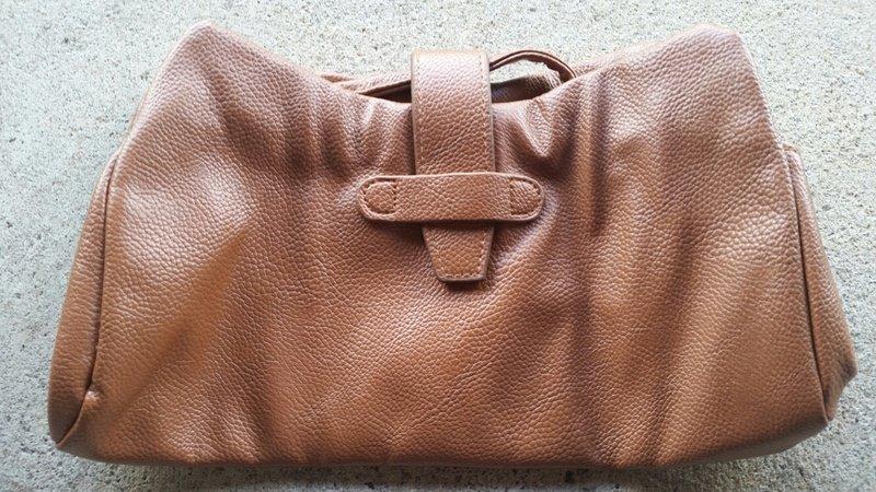 Genuine leather designer women beige color wallet