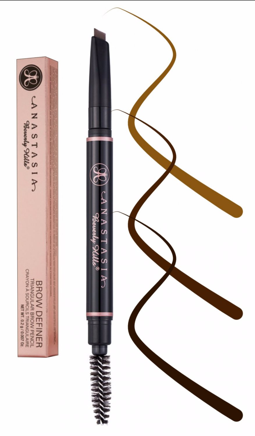Anastasia Beverly Hills Brow Definer Skinny Brow Soft Brown Pencil