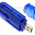 Multi USB 2.0 Memory Card Reader Secure Digital SD/MiniSD/MicroSD/M2/TF/M S U