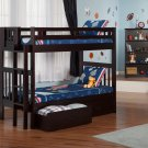 Cascade Twin over Twin Bunk Bed with Drawers by Atlantic